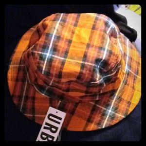UO NWT Plaid cotton hat